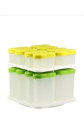 Tupperware Baharatçık Set ( 8 x 120 ml - 8 x 270 ml )