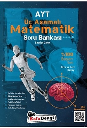 Kafa Dengi Yayınları AYT Matematik Soru Bankası Yeni Orta ve İleri Düzey