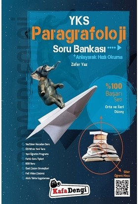 Kafa Dengi Yayınları YKS Paragrafoloji Soru Bankası - Zafer Yaz