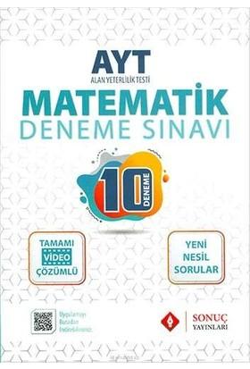 Sonuç Yayınları AYT Matematik 10 Deneme