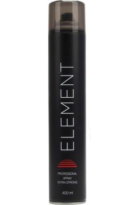 Element Ekstra Güçlü Saç Spreyi 400ML