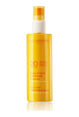Clarins Spray Solaire Lait-Fluide Uvb 20 Douceur 150ml