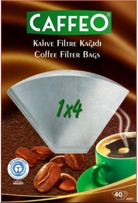 Caffeo Kahve Filtre Kağıdı 1/4 40LI