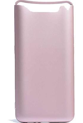 CoverZone Samsung Galaxy A80 Kılıf Premier Silikon + Nano Ekran Koruma + Dokunmatik Kalem - PRE150 Rose