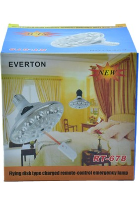 Everton RT-678 Kumandalı LED Ampul E-14 Duy
