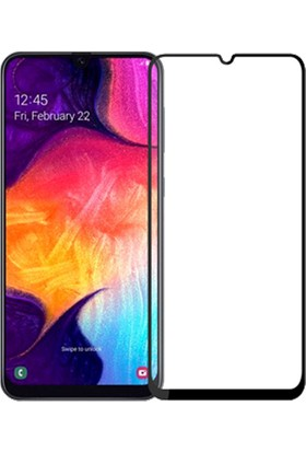 BlitzPower Samsung Galaxy A30 - A50 6D Tam Kaplayan Nano Glass Ekran Koruyucu