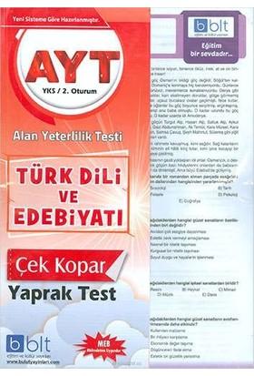 Bulut Eğitim AYT Türk Dili ve Edebiyatı Yaprak Test
