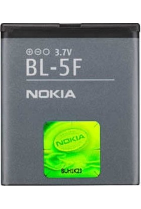Nokia N96 6290 X5 6260S X-5 01 Bl-5f Batarya Pil