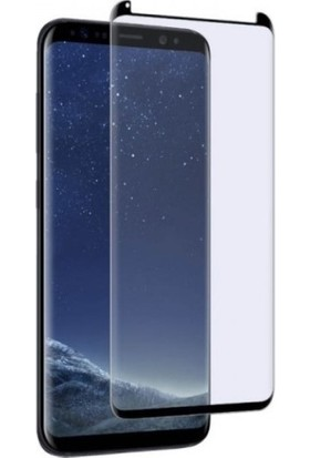 Sunix Samsung Galaxy S8 Plus Tam Kaplayan Ekran Koruyucu Cam Siyah