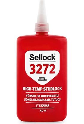 Sellock Yüksek Isı Mukavemetli Sökülmez Saplama Tutucu 50 ml