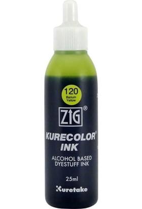 Zig Kurecolor Mürekkep Kcr-25 120 Barium Yellow