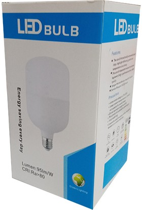 LED Bulb E27 30W Beyaz Işık Torch LED Ampul 5'li Paket