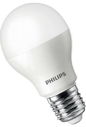 Philips Essential 9 W E27 Duy LED Ampül Beyaz 12'li Paket