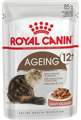 Royal Canin Ageing +12 Adet Kedi Konservesi 85 g x 12 Adet