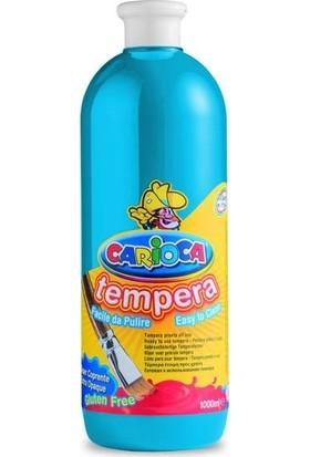 Carioca Tempera Yıkanabilir Poster Boya 1000 Ml. Açık Mavi