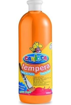 Carioca Tempera Yıkanabilir Poster Boya 1000 Ml. Turuncu
