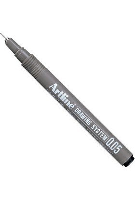 Artline Drawing System Teknik Çizim Kalemi 0.05 mm Siyah