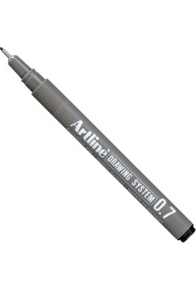 Artline Drawing System Teknik Çizim Kalemi 0.7 mm Siyah