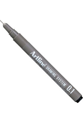 Artline Drawing System Teknik Çizim Kalemi 0.1 mm Siyah