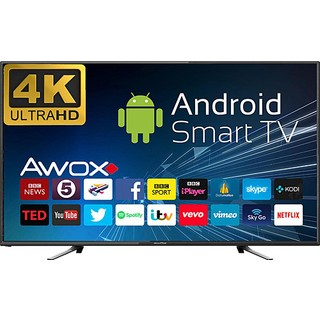 "Awox U5100STR 50"" 4K Ultra Hd Smart Android LED Tv"