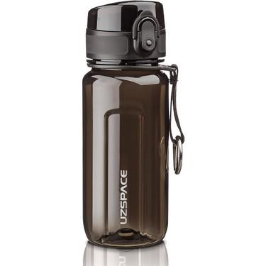 Uzspace 350 ml Siyah Kırılmaz Tritan Su Matarası - Spor ve Fiyatı