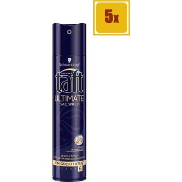 Taft Sac Spreyi Ultimate 6 250 Ml 5 Li Set Fiyati