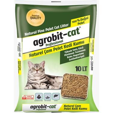 Agrobit Çam Peleti Doğal Kedi Kumu 10 l Fiyatı - Taksit Seçenekleri