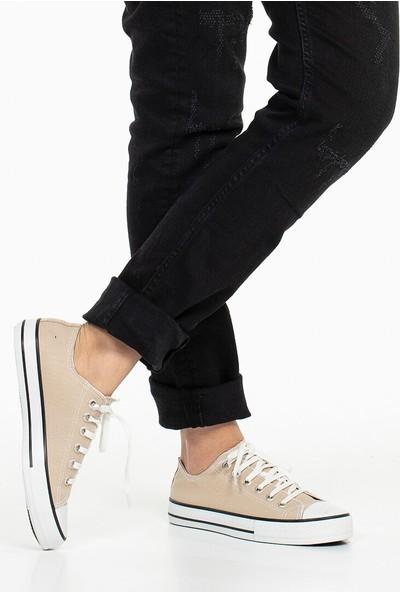 Spor Ayakkabı - Krem - Zenneshoes