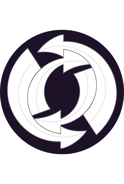 Nikidom Roller Çanta Için Tekerlek Stickeri / Etiketi Arrows Desen