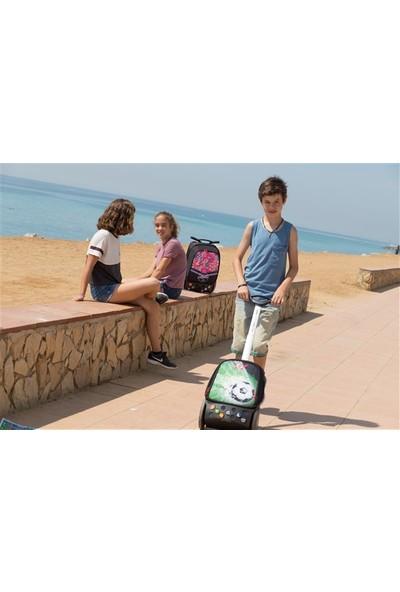 Nikidom Çek Çek / Tekerlekli Okul Çantası Roller Goal L Ve Büzgülü Spor Çantası Set
