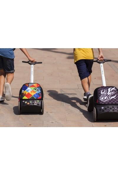 Nikidom Çek Çek / Tekerlekli Okul Çantası Roller Kaleido L Ve Büzgülü Spor Çantası Set