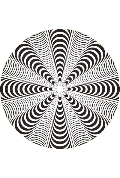 Nikidom Roller Çanta Için Tekerlek Stickeri / Etiketi Dizzy Desen