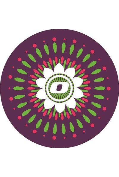 Nikidom Roller Çanta Için Tekerlek Stickeri / Etiketi Mandala Desen