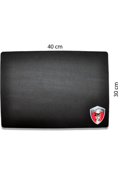 TKZ Bobcat Desenli Oyuncu 40 x 30 cm Kaymaz Mouse Pad