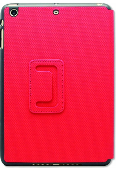 XtremeMac Micro Folio Karbon Fiber iPad Mini 2/3 Kılıf ve Standı Kırmızı
