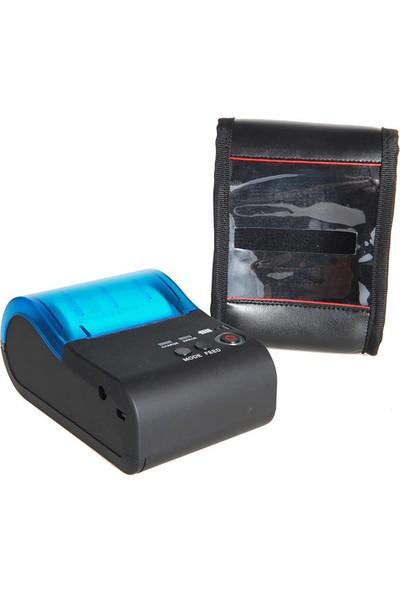 Twinix Bluetooth Termal Fiş Yazıcı Taşınabilir Kablosuz Yazıcı 58 mm