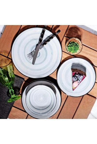 Dolmabahçe 24 Parça Yemek Takimi Beyaz