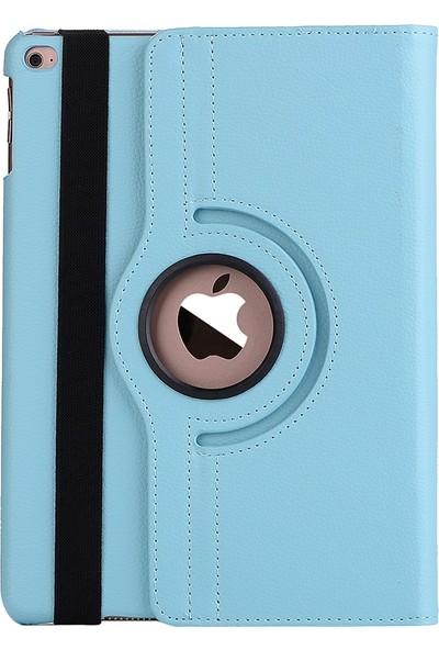 Windys Apple Apple iPad Air 9.7 İnç 360 Derece Dönebilen Kılıf (A1474/A1475/A1476) Turkuaz