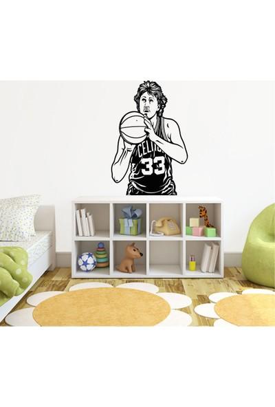 Tatfast Basketcı Duvar Stıcker 40 x 60 cm Siyah