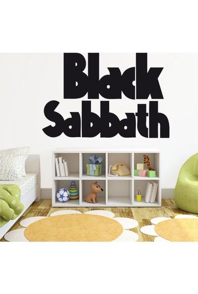 Tatfast Black Sabbath 2 Duvar Stıcker 40 x 60 cm Siyah