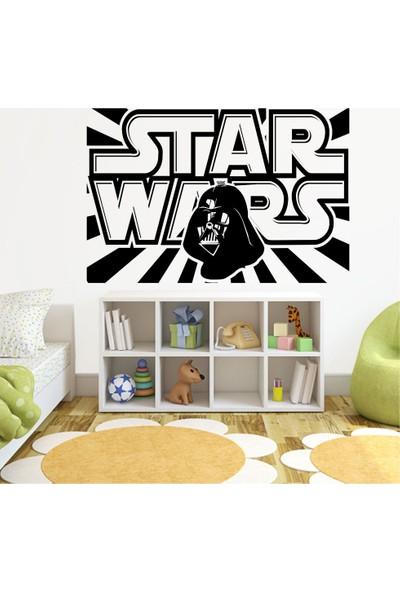 Tatfast Star Wars Duvar Stıcker 40 x 60 cm Siyah