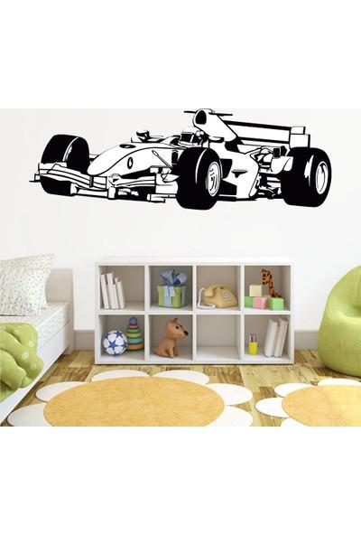 Tatfast Formula1 Duvar Stıcker 40 x 120 cm Siyah