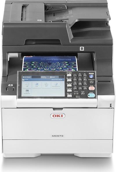 OKI MC573DN Çok Fonksiyonlu Renkli A4 Lazer Yazıcı 46357102