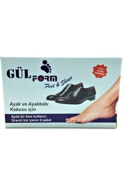 Gülform Ayak ve Ayakkabı Koku Giderici Pudra (Antibakteriyel)