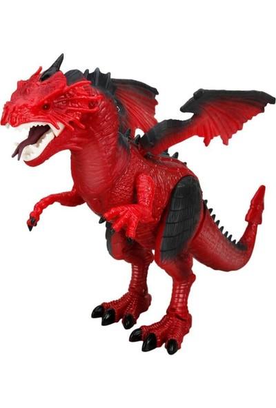 Sunman Uzaktan Kumandalı Işıklı Sesli Yürüyen Ejderha Dragon Dinazor