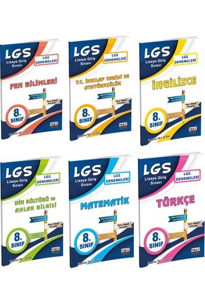 Tekiz Yayıncılık LGS 6 Deneme Seti