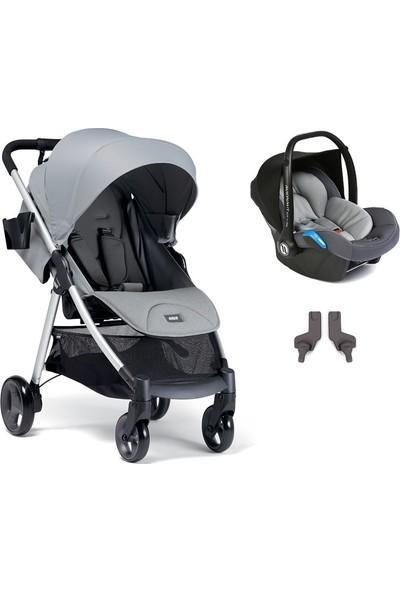 Mamas & Papas Armadillo Travel Sistem Bebek Arabası Steel Grey