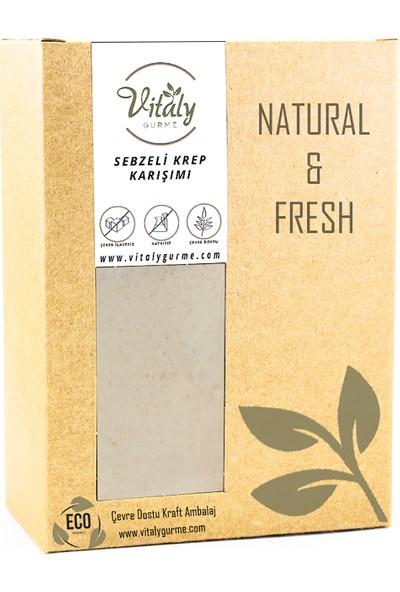 Vitaly Gurme Sebzeli Krep Karışımı 210 gr