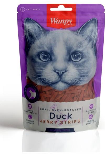 Wanpy Gerçek Ördek Fileto 80 gr Yumuşak Kedi Ödülü