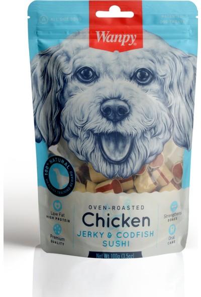 Wanpy Tavuklu&Morina Balıklı 100 gr Köpek Ödülü